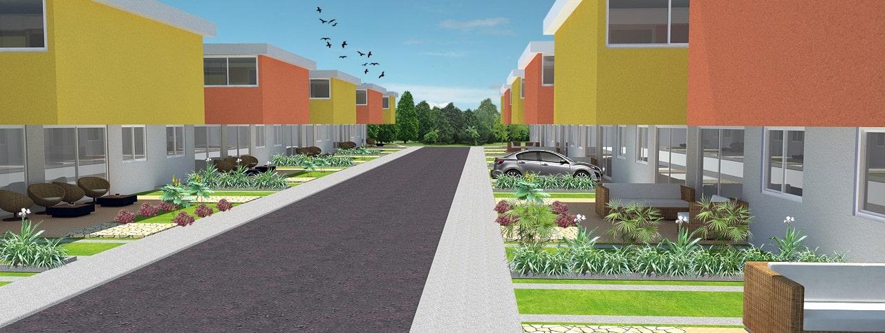 Fachada proyecto Altos de La Florida