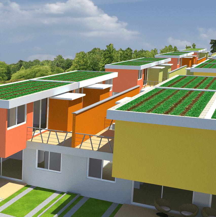 proyecto de vivienda eco sostenible